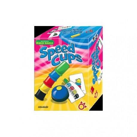 Speed Cups es un Un fantástico juego de reflejos para toda la familia de la marca Mercurio Distribuciones