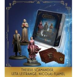 Theseus Scamander, Leta And Nicholas (Inglés)