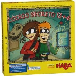 Juego de mesa educativo Código Secreto 13+4 de Haba