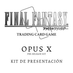 CARD GAME FINAL FANTASY TCG OPUS X PRE-RELEASE KIT FROM SQUARE ENIX