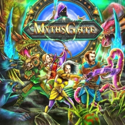 Mythsgate is an asymmetric table game from GDM Games