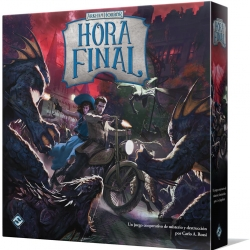 Expansión juego de mesa Arkham Horror Hora Final de Fantasy Flight Games