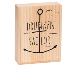 Drunken Sailor is a game of deception, witty drawings and stories from Marektoys