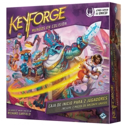 Card game Keyforge Colliding Worlds Starter box for 2 players from Fantasy Flight Games