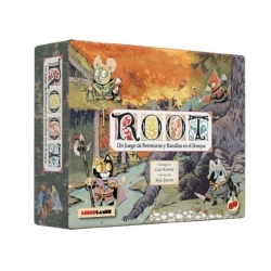 Root board game in Spanish from 2Tomatoes Games