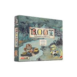 Expansion the riverside for board game Root in Spanish from 2Tomatoes Games