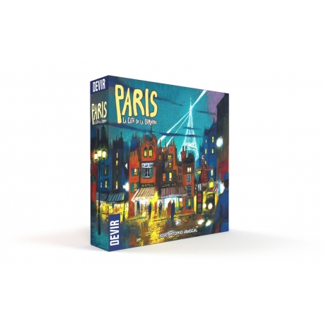 Board game Paris: la citè de la lumière in Spanish by Devir Iberia