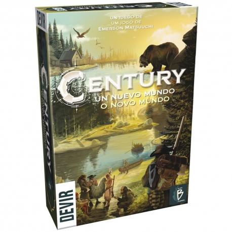 Card game Century a New World of Devir
