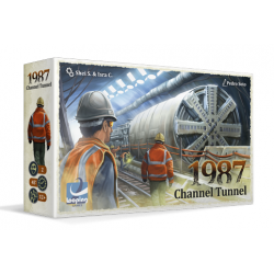 1987 Channel Tunnel board game from Looping Games