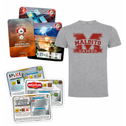 Expansion Terraforming Mars: Pack Promos and Pack improvements module day of the Anachrony trial of the brand Maldito Games