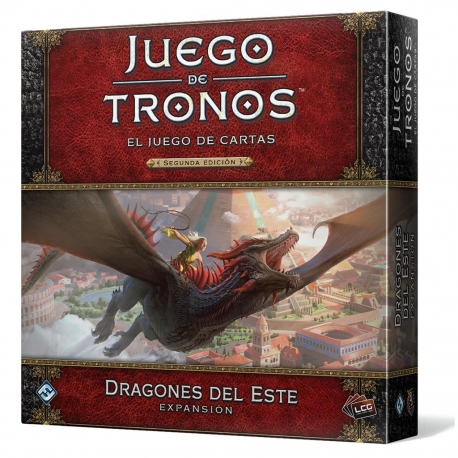 Expansión Juego de Tronos 2ª Edición LCG Dragones del Este de Fantasy Flight Games
