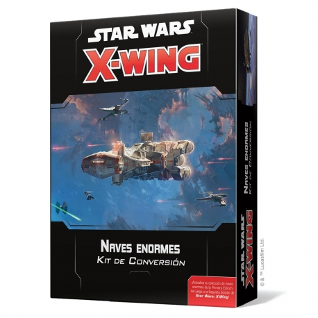 Star Wars X Wing 2nd Edition Huge Ships Conversion Kit