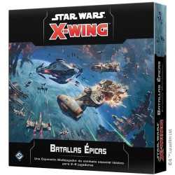 Expansión Batallas Épicas para Star Wars X-Wing 2ª Edición de Fantasy Flight Games