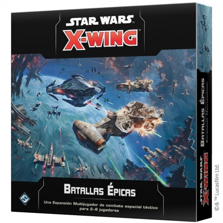 Expansion Epic Battles for Star Wars X-Wing 2nd Edition from Fantasy Flight Games