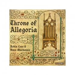 Throne of Allegoria board game in English from Spielworxx