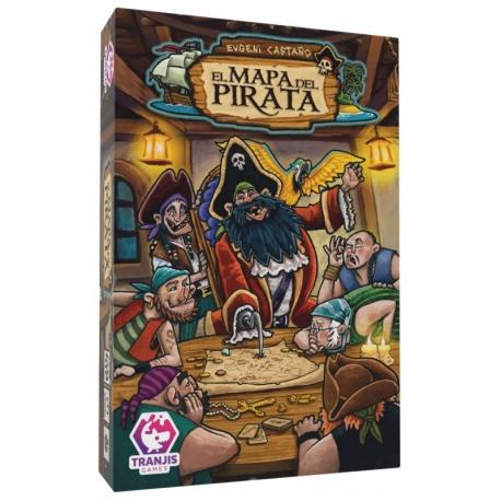 Juego de cartas El Mapa del Pirata de Tranjis Games