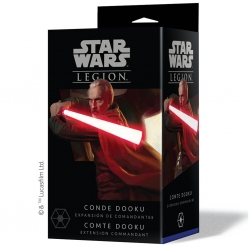Expansion Conde Dooku for Star Wars Legion miniature game from Fantasy Flight Games