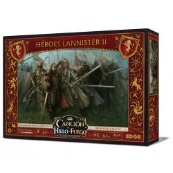 Caja de expansión Canción de Hielo y Fuego Héroes Lannister II juego de miniaturas de Edge Entertainment
