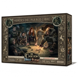 Expansion box Song of Ice and Fire Heroes of the Free People I miniatures game of Edge Entertainment