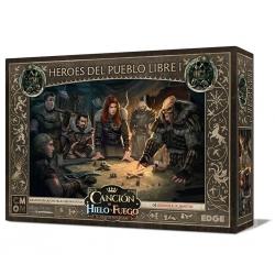 Caja de expansión Canción de Hielo y Fuego Héroes del Pueblo libre I juego de miniaturas de Edge Entertainment