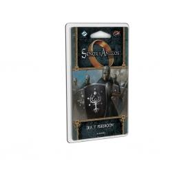 Expansión del juego de cartas El Señor de los Anillos LCG: Ira y perdición La venganza de Mordor de Fantasy Flight Games