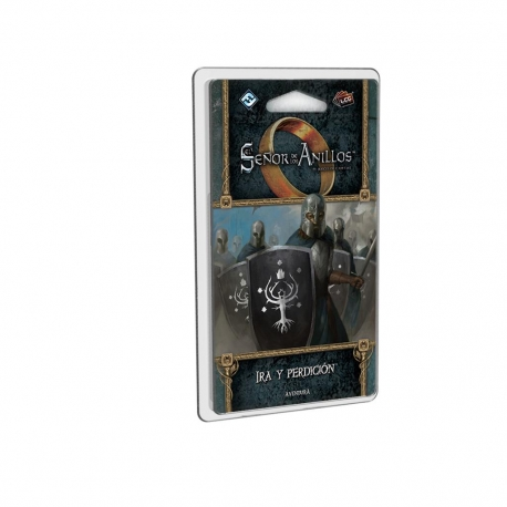 Expansion of the card game The Lord of the Rings LCG: Wrath and Doom Mordor's Revenge from Fantasy Flight Games