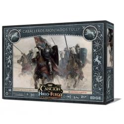 Caja de expansión Canción de Hielo y Fuego Caballeros Montados Tully juego de miniaturas de Edge Entertainment