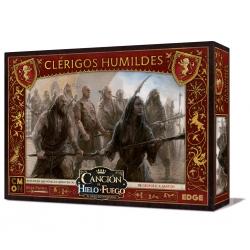 Caja de expansión Canción de Hielo y Fuego Clérigos humildes juego de miniaturas de Edge Entertainment