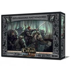 Caja de expansión Canción de Hielo y Fuego Exploradores rastreadores juego de miniaturas de Edge Entertainment