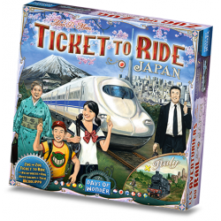 Table game ¡Ticket to Ride! Japan - Italy from Days of Wonder