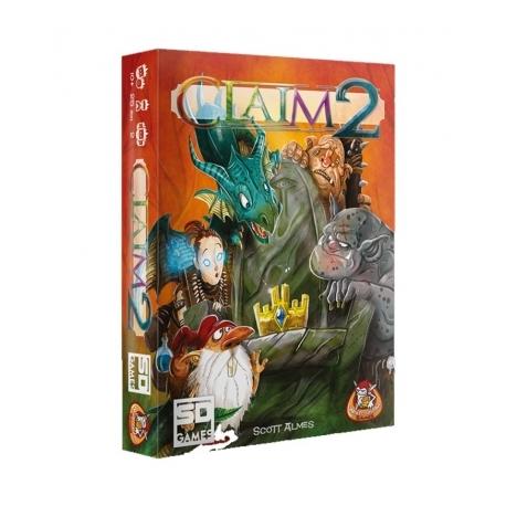 Juego de cartas Claim 2 de SD Games