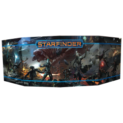 Starfinder game director screen role-playing game from Devir