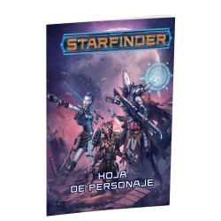 Starfinder Game Character Sheet Role playing Game from Devir