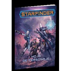 Hoja del Personaje de juego de Starfinder juego de rol de Devir