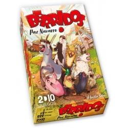 Juego de cartas Berridos Edición Verkami de 2D10 juegos