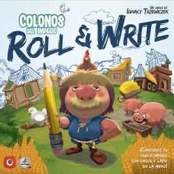 Juego de Roll & Write Colonos del Imperio de Maldito Games
