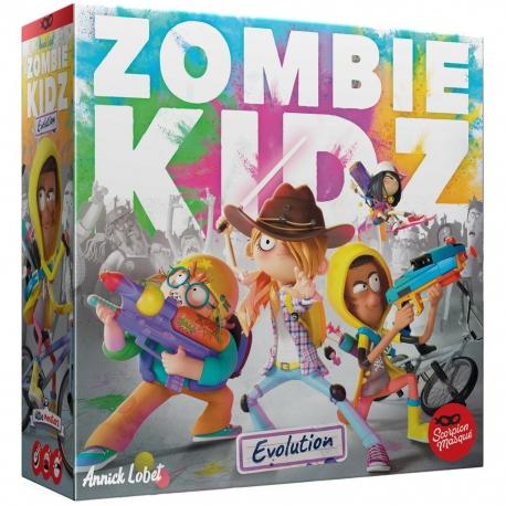 Zombie Kidz Evolution board game from Le Scorpion Masqué