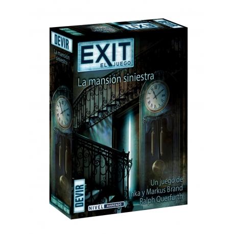 juego de escape room Exit La Mansión Siniestra de Devir