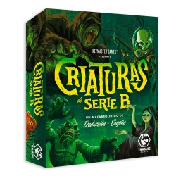 Card game Creatures of Serie B of Tranjis Games