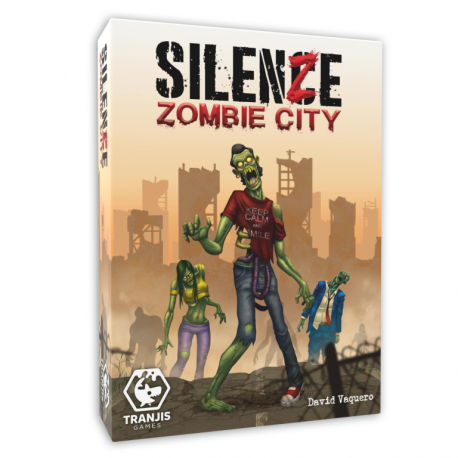 SilenZe Zombie City card game from Tranjis Games