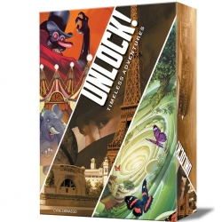 Unlock! Timeless Adventures a cooperative card game inspired by an Escape Room from Space Cowboys