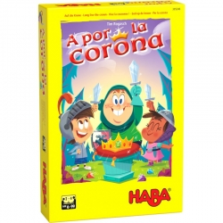 Board game Go for the Crown from Haba