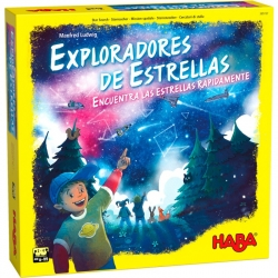 Educational board game Star Explorers from Haba