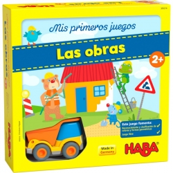 Educational board game My first games - The works from Haba