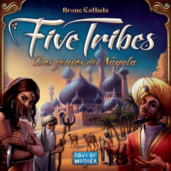 Juego de mesa Five Tribes de Days of Wonders y Maldito Games
