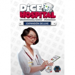 Deluxe expansion board game Dice Hospital from Maldito Games brand