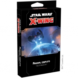 Expansión Arsenal Completo para Star Wars X-Wing 2ª Edición de Fantasy Flight Games