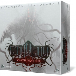 Death May Die Season 2 for Cthulhu cooperative board game from CMON Games
