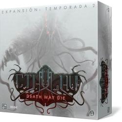 Expansión Death May Die Season 2 del juego de mesa cooperativo Cthulhu de CMON Games