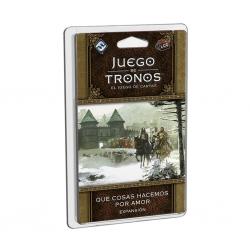 Expansión juego de cartas Juego De Tronos 2ª Edición Lcg - Qué Cosas Hacemos Por Amor de Edge Entertainment